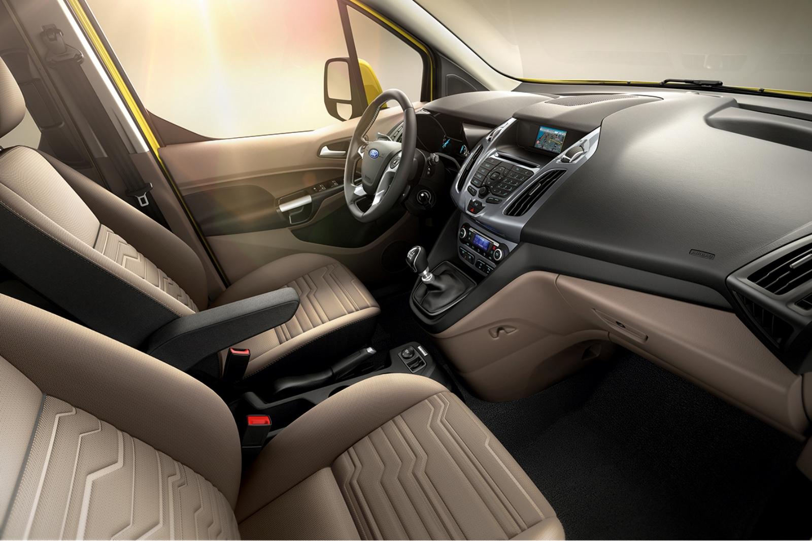 Yeni Ford Tourneo Connect İç Tasarım - YeniModelArabalar.com