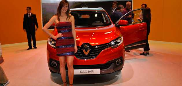 renault kadjar stanbul autoshow 2015 g r nt leri. Black Bedroom Furniture Sets. Home Design Ideas
