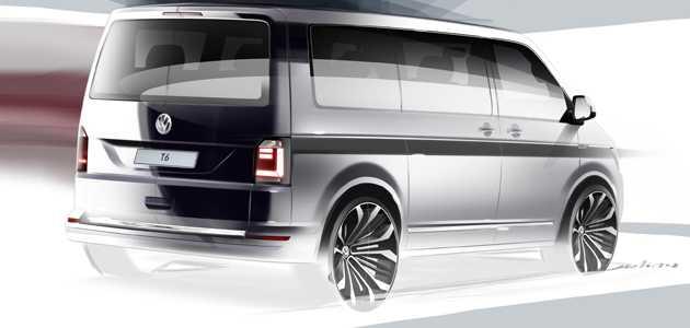 Vw,Transporter T6'yı 15 Nisan'da tanıtacak.