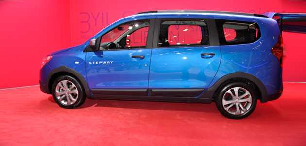 dacia lodgy stepway 2015 stanbul autoshow 39 da. Black Bedroom Furniture Sets. Home Design Ideas