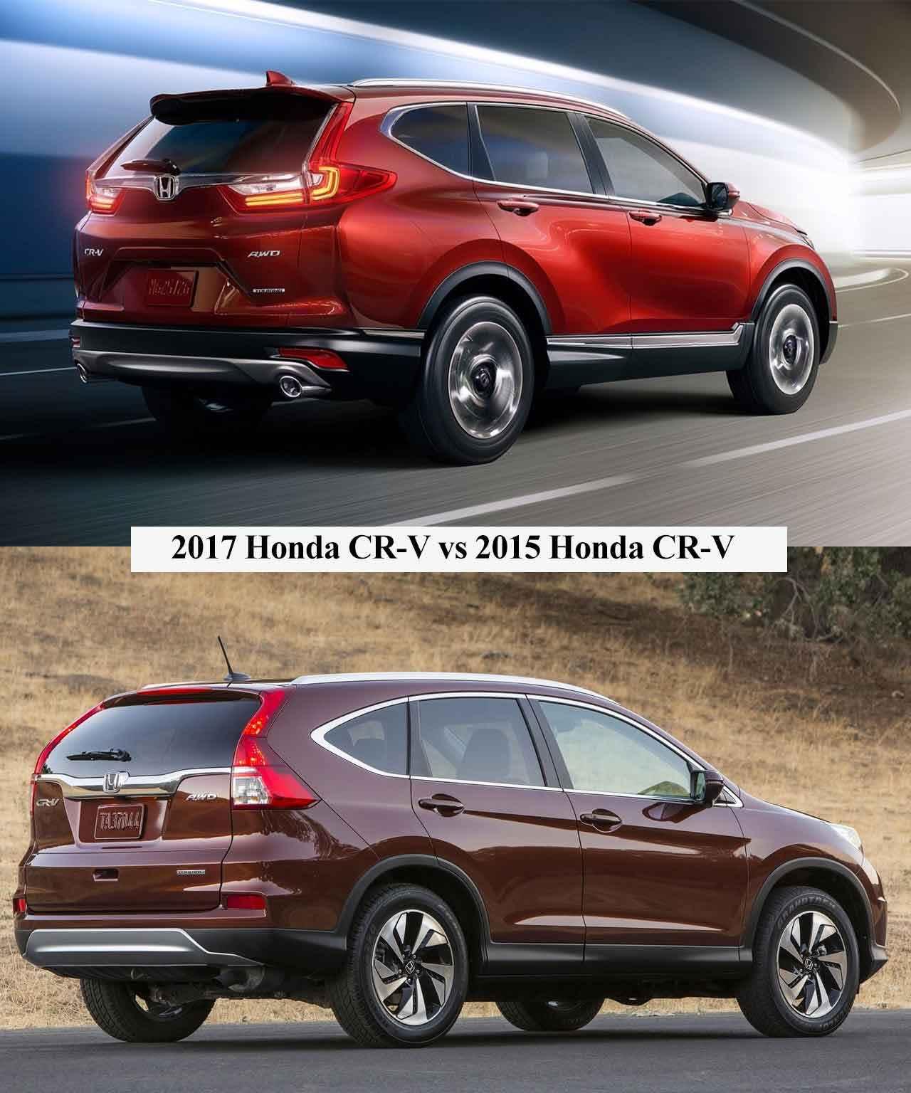 Honda Hrv Vs Crv >> 2017 Honda CR-V vs 2015 Honda CR-V Farkları-Karşılaştırma - YeniModelArabalar.com