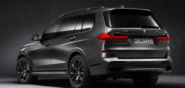2021 BMW X7 Fiyatı ve Dark Shadow Edition Özellikleri ...