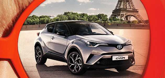 18 19 ubat toyota chr test s r ile paris 39 e 2017 02 17. Black Bedroom Furniture Sets. Home Design Ideas