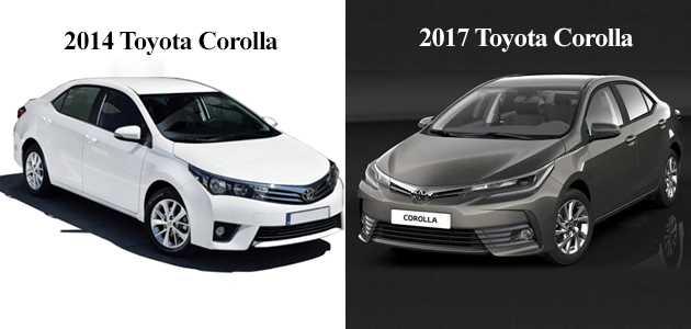 2017 yeni toyota corolla ve eski toyota corolla arasındaki farklar