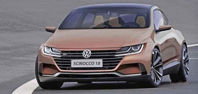 Volkswagen Scirocco Yeni Vw Tasarimi Ile Resmedildi Yenimodelarabalar Com