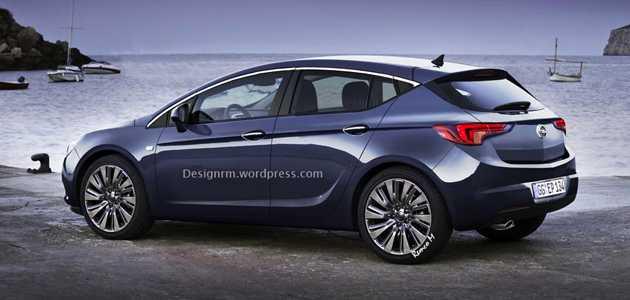2016 Opel Astra K Böyle Gelebilir - YeniModelArabalar.com
